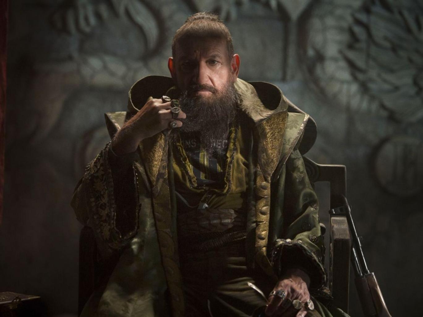 Sir Ben Kingsley in Iron Man 3