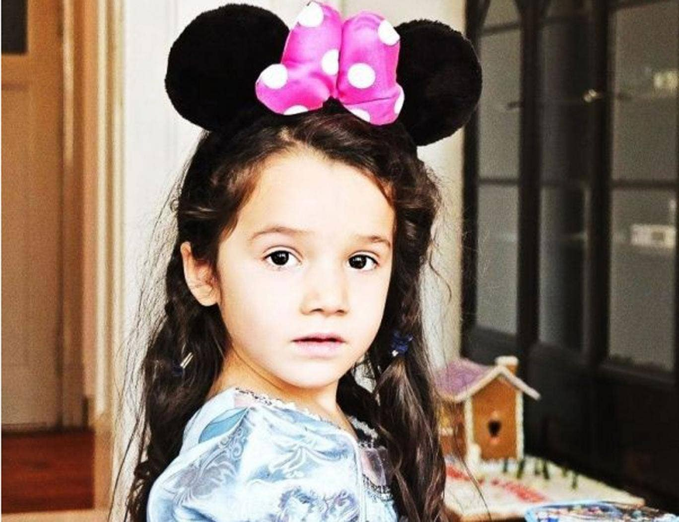 All ears: Michael Volpe's daughter, Fiora