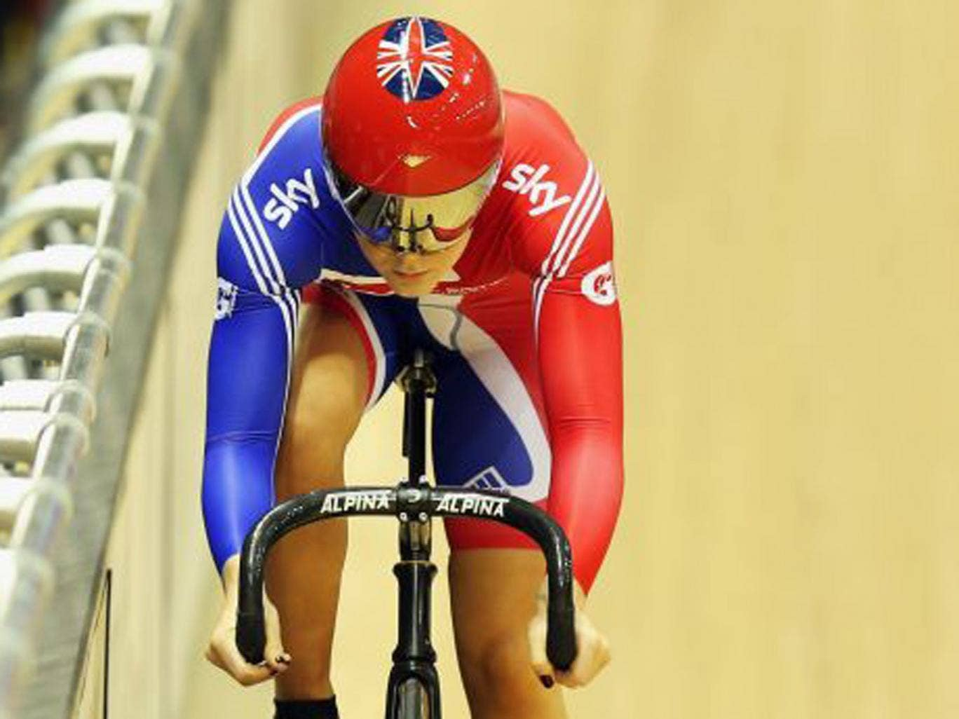 Sprinter Jess Varnish will be in her track cycling prime for the Rio Olympics in 2016
