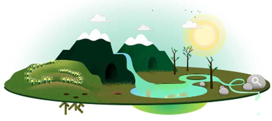 22 April 2013: Google's Doodle for Earth Day 2013