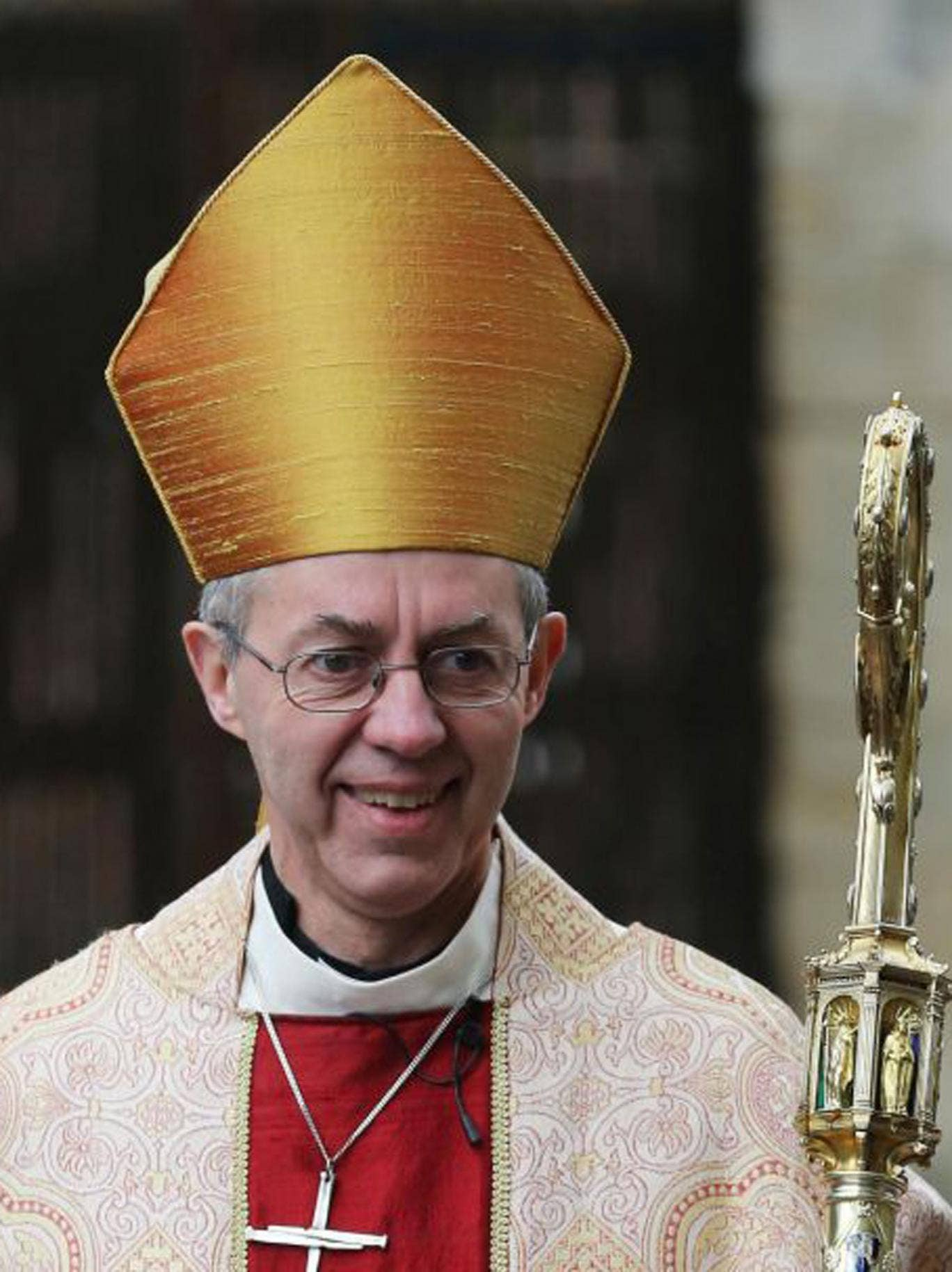 The Archbishop of Canterbury, the Most Reverend Justin Welby, who has delivered a stark warning that Britain is in an economic depression and could take a generation to recover.