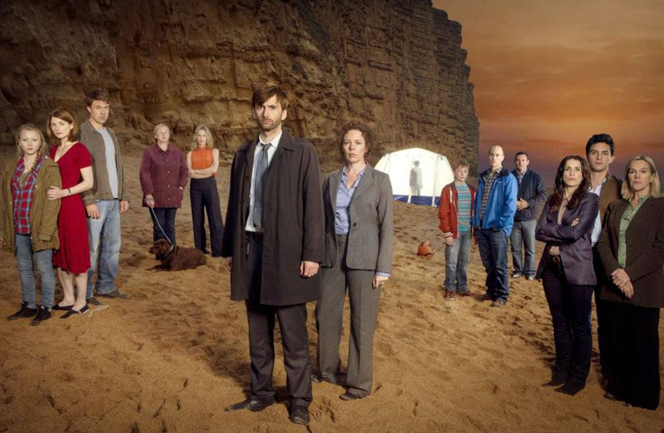 The successful ITV drama Broadchurch starring David Tenant and Olivia Coleman came to an end tonight