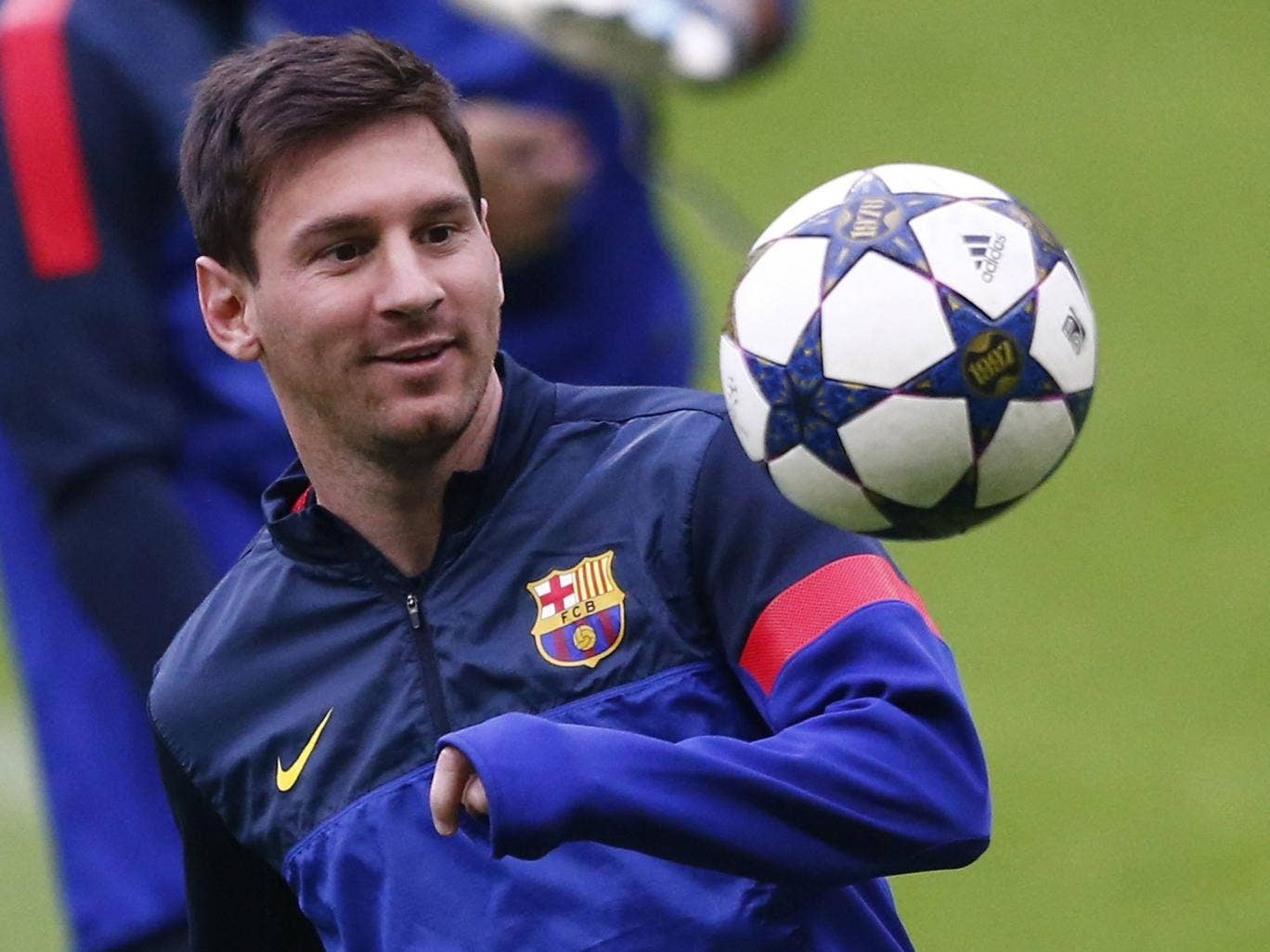 Lionel Messi will start in Munich after shaking off an injury