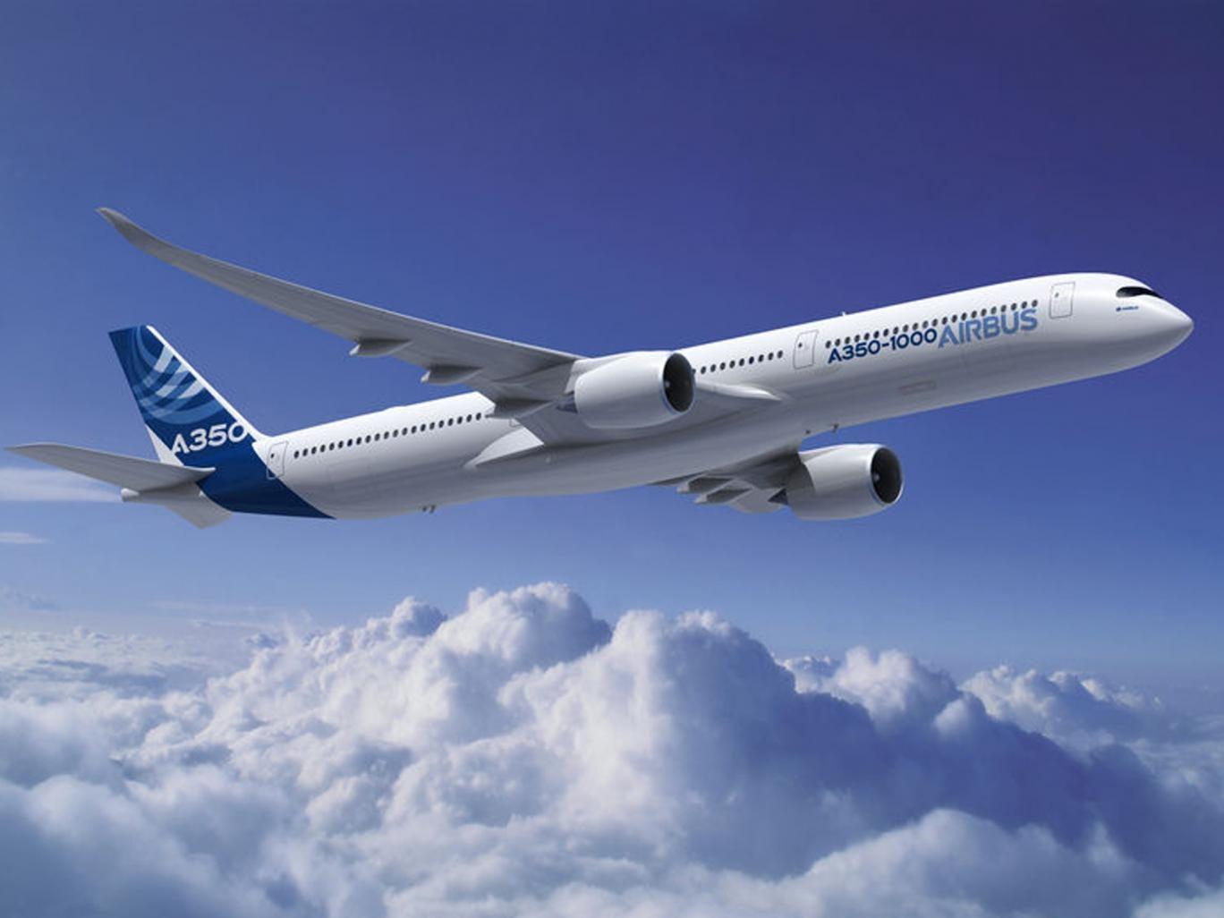 New Airbus A350 aircraft