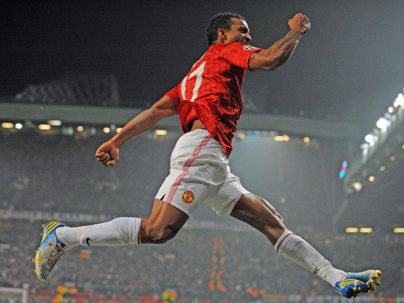 <p>Nani (10 appearances, 1 goal):</p> Either brilliant or poor and seems like his manager has lost patience. A single goal in a below-par return from a major attacking threat. 6