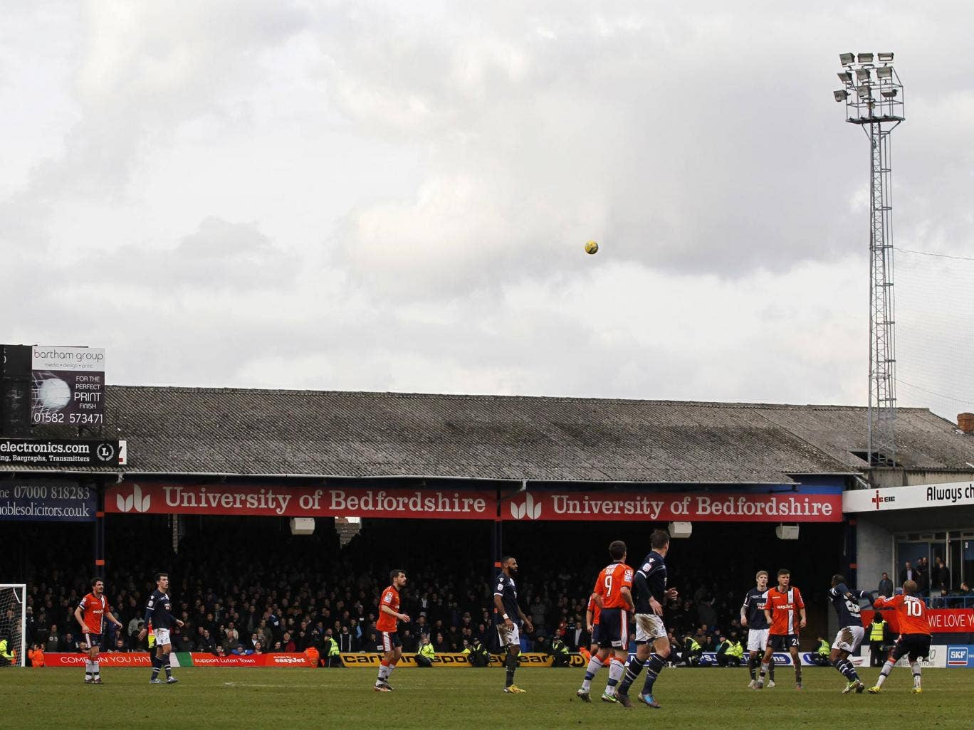 Luton Town have suffered three play-off defeats since relegation