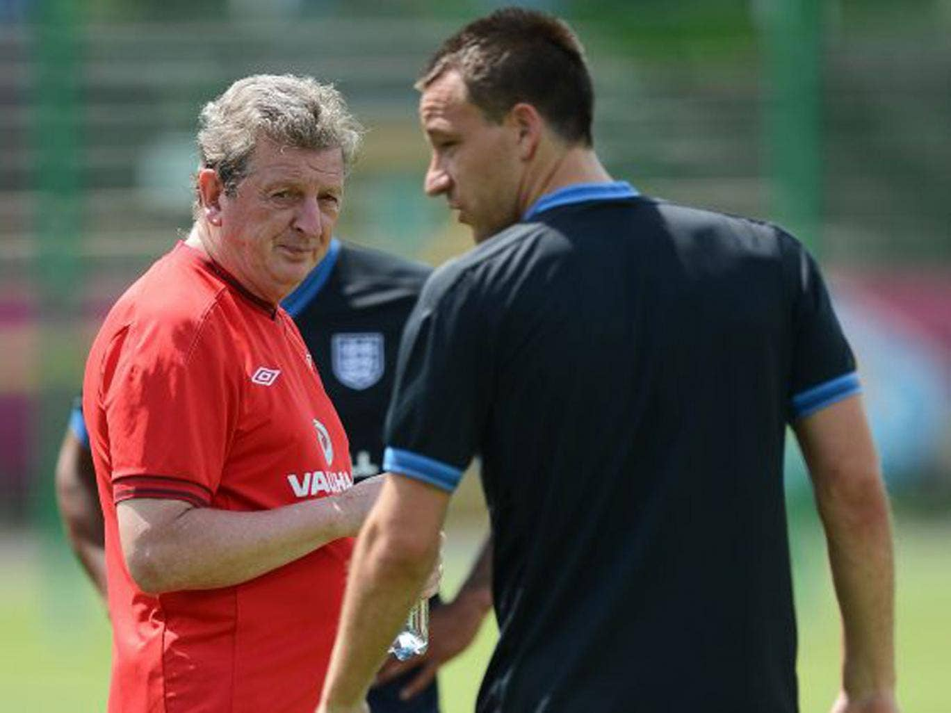 England manager Roy Hodgson (left) has always wanted John Terry in his side