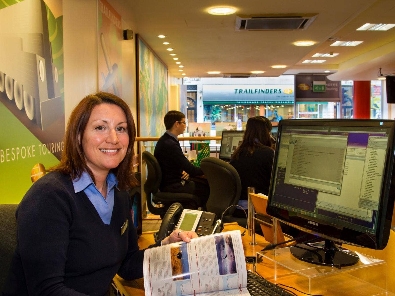 Special agent: Tracey Smith from Trailfinders