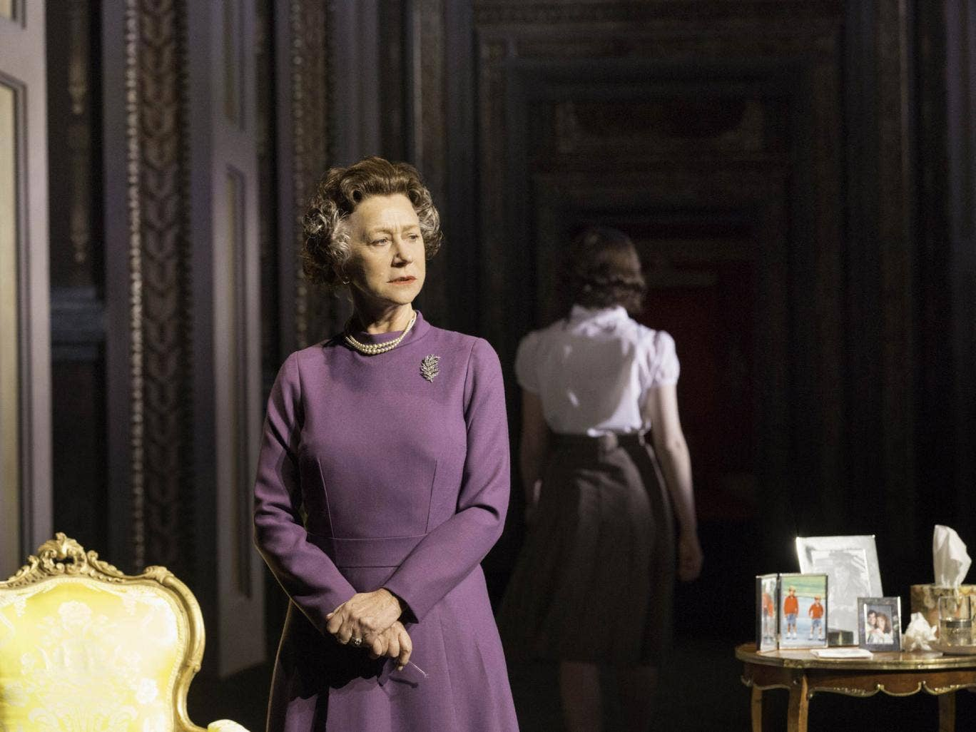 Tipped: Mirren is among the favourites to secure the Best Actress award for her latest turn as the Queen in The Audience