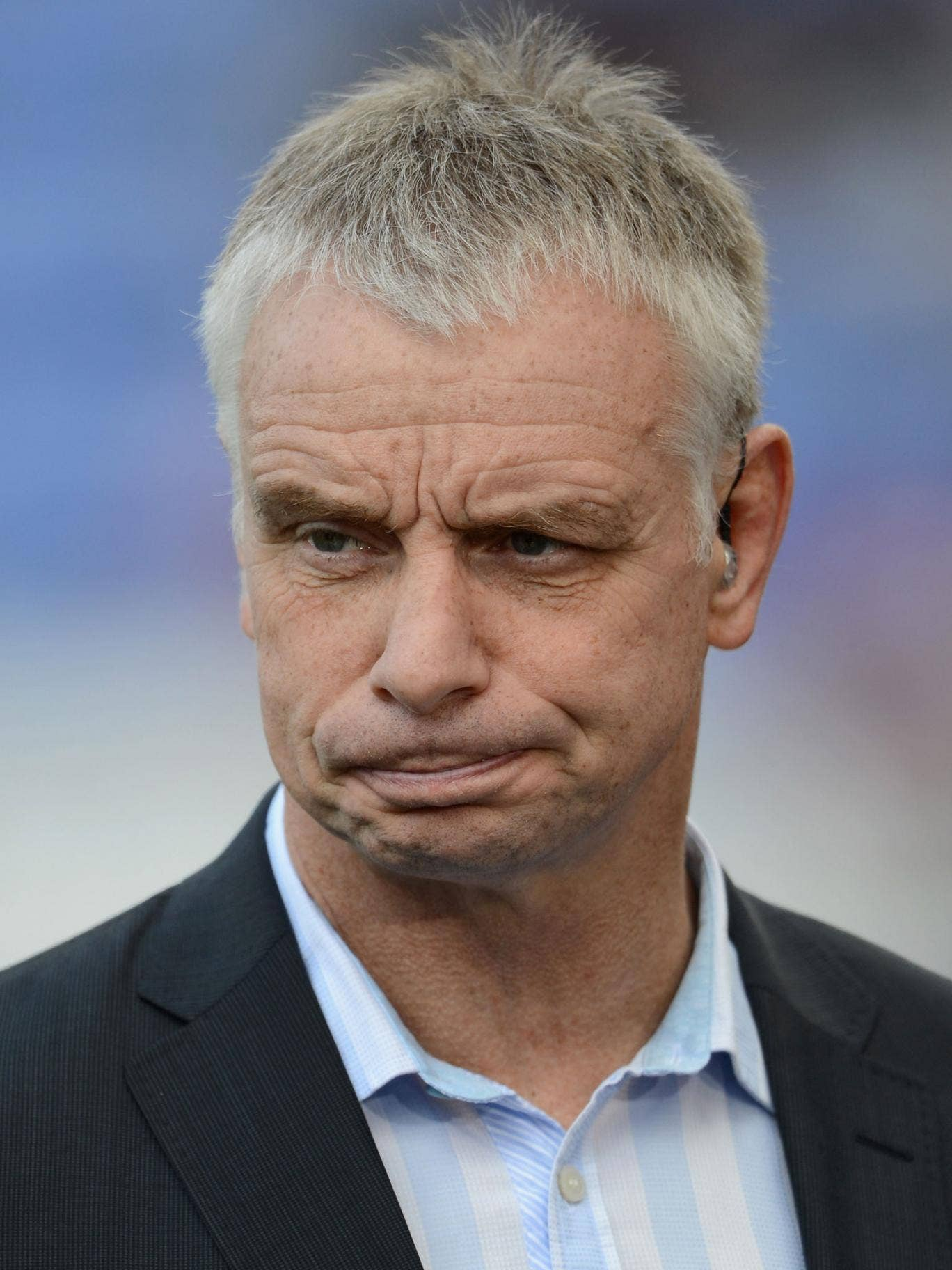 Wrecked nerves: Brian Noble realises how tough his job at Salford really is