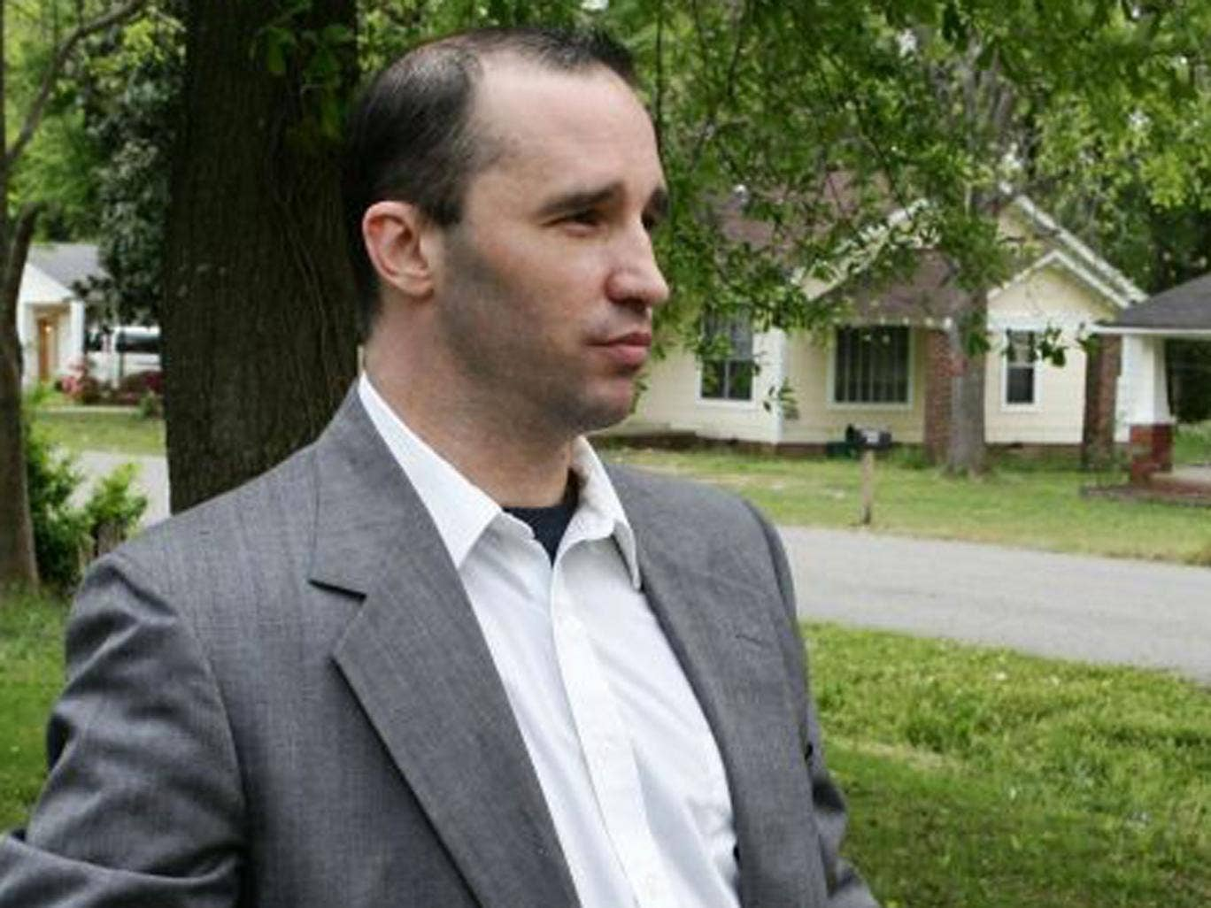 Everett Dutschke has been arrested over the poison letters sent to Barack Obama and two other politicians