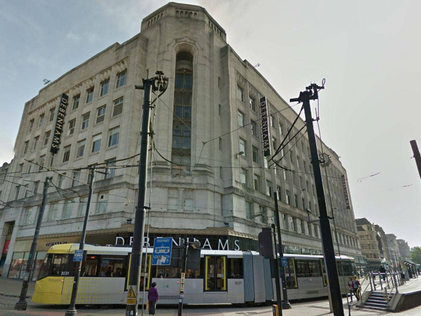 Two men have been found guilty of raping a 14-year-old boy in this Debenhams store in Manchester