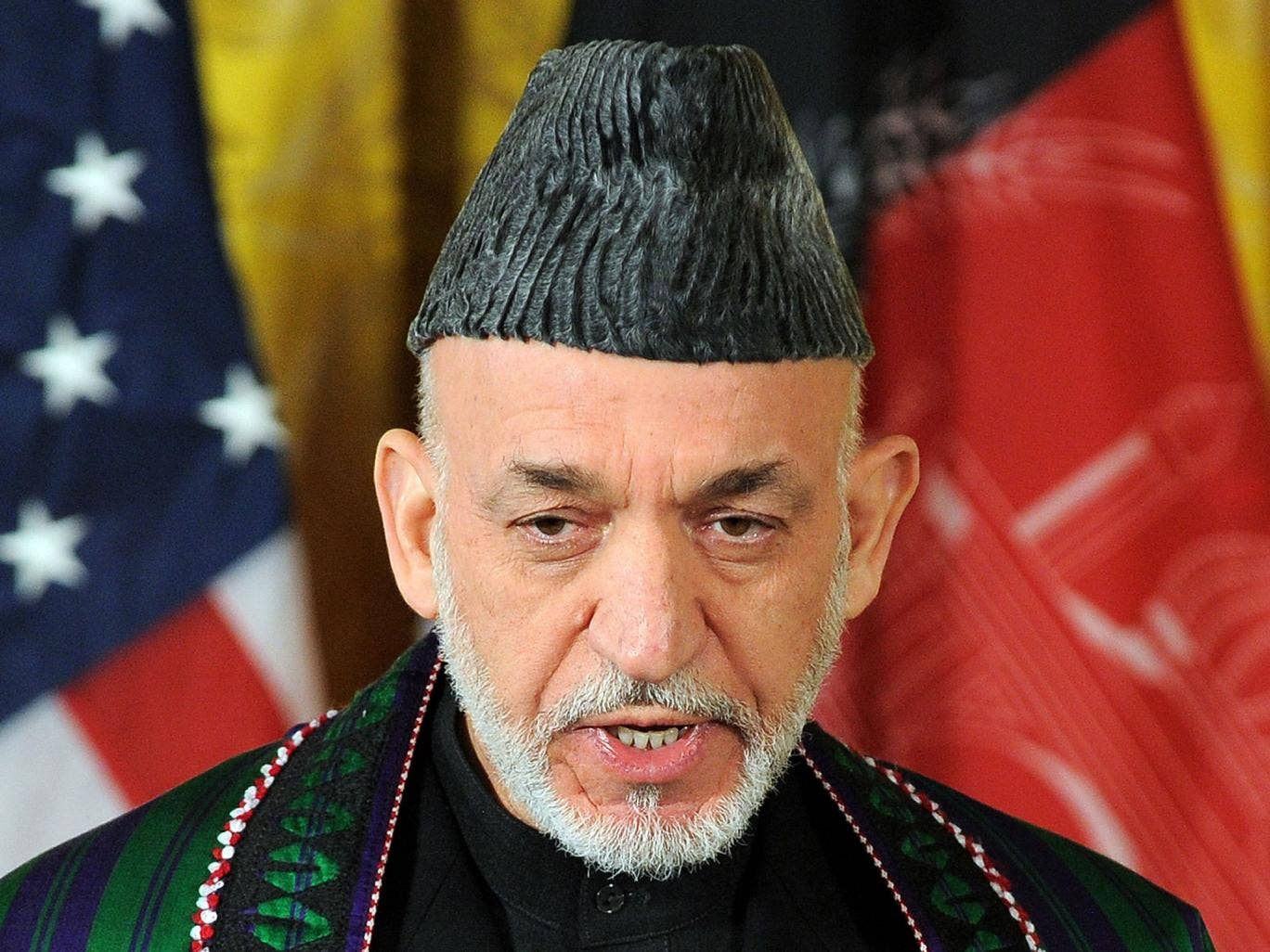 Afghan President Hamid Karzai has admitted that his national security team has been receiving payments from the US government for the past 10 years