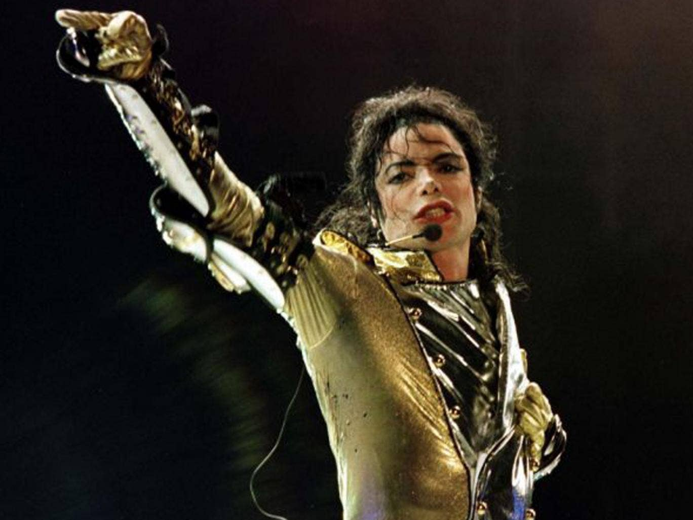 Michael Jackson performing during his HIStory World Tour. The Jackson family is reportedly suing AEG LIve for $40bn in damages