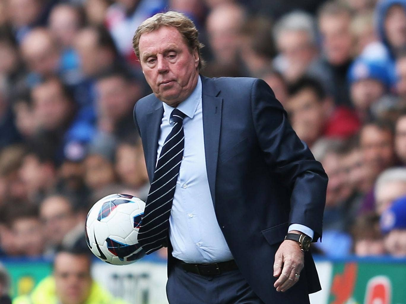 Harry Redknapp will stay at QPR and try to rebuild his squad