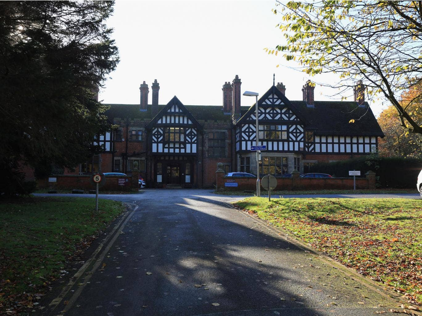 The former Bryn Estyn Children's Home in Wrexham, one of the homes being investigated. A video was released earlier by police where Chief Constable Mark Polin gave a statement regarding new evidence