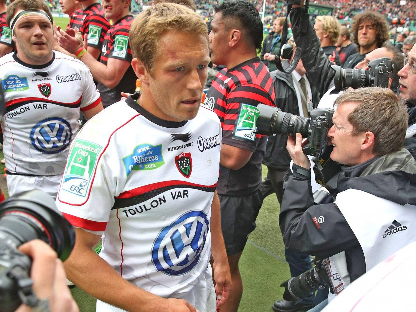 Jonny Wilkinson following Toulon's victory over Saracens at Twickenham last weekend