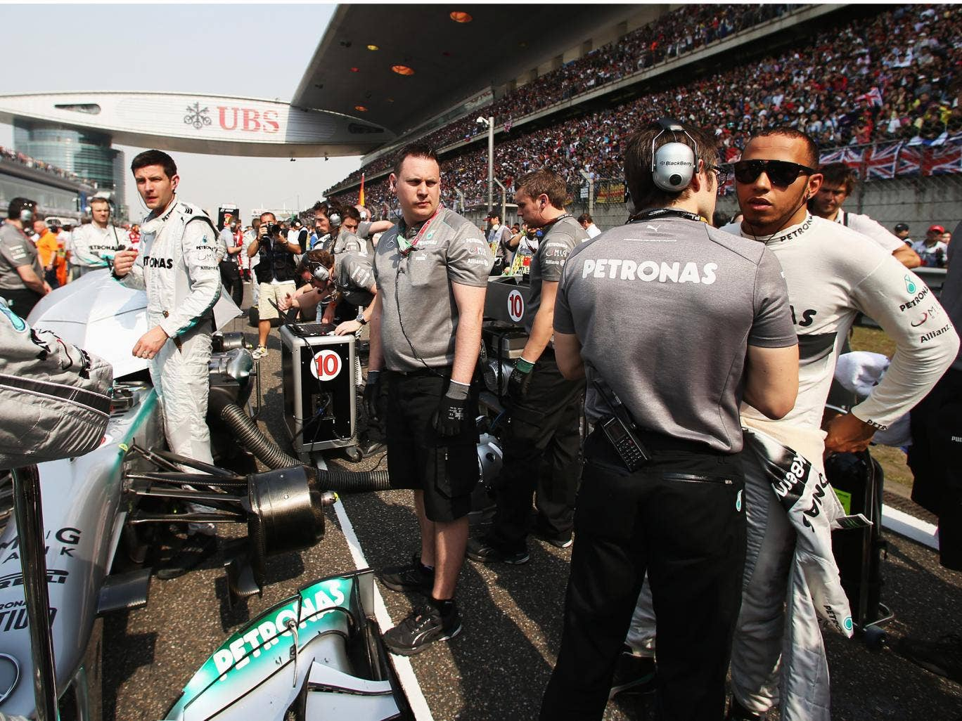 Lewis Hamilton's switch from McLaren to Mercedes has so far been successful given he has taken a pole position and two third places