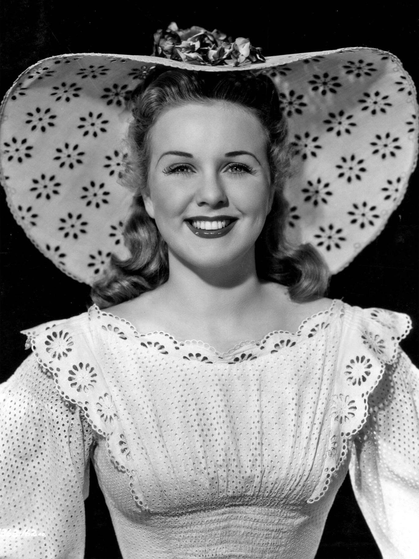 Deanna Durbin in the period musical 'Can't Help Singing'
