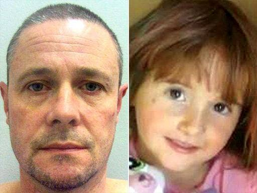 Mark Bridger described how he 'accidently' crushed the little girl to death in his Land Rover