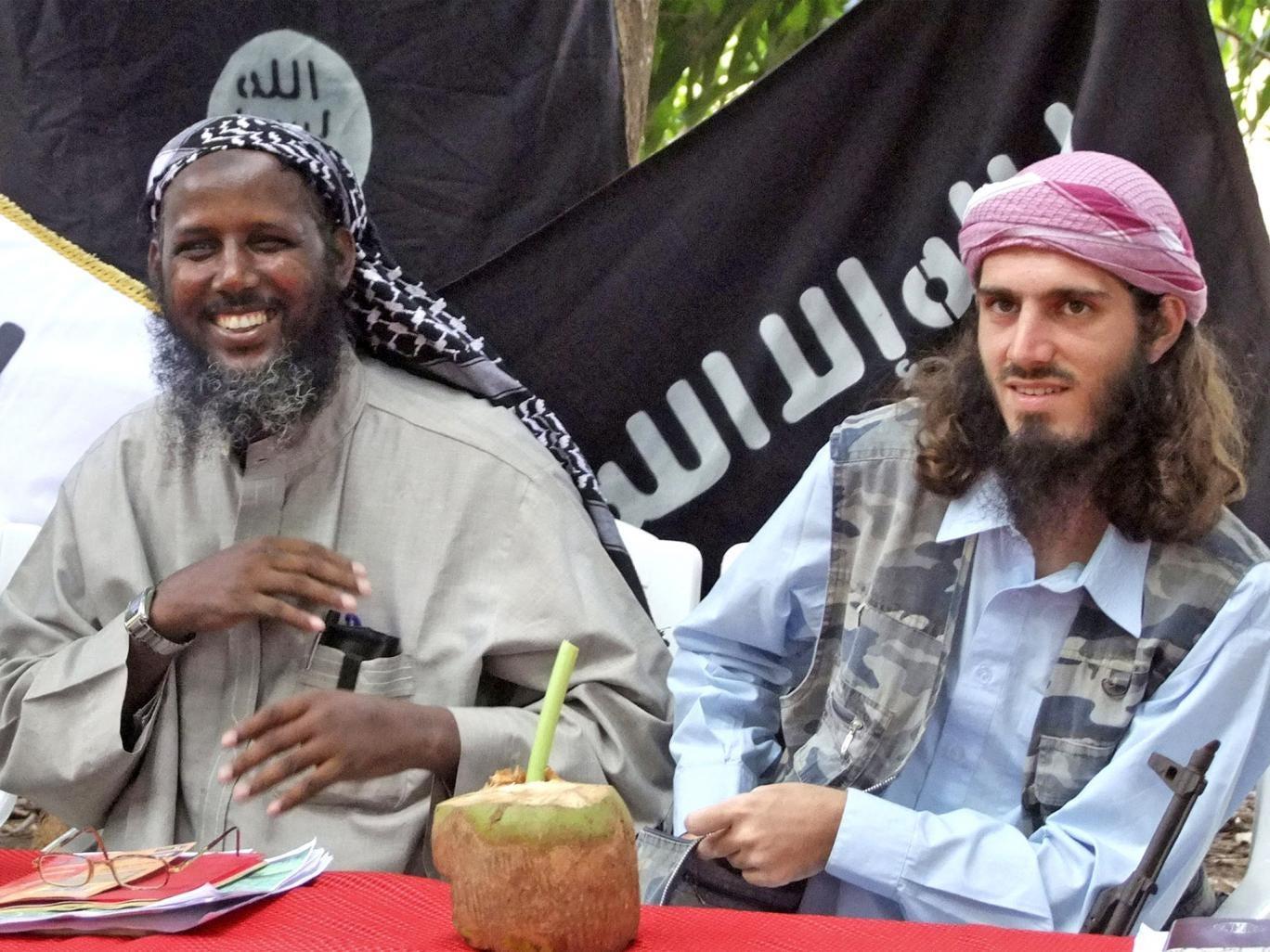 Al-Shabaab's deputy, Sheik Mukhtar Robow, and Omar Hammami