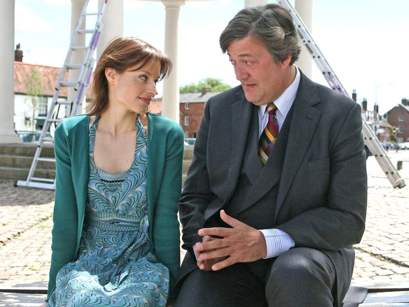 ITV's 'Kingdom' was filmed in Swaffham and starred local lad Stephen Fry