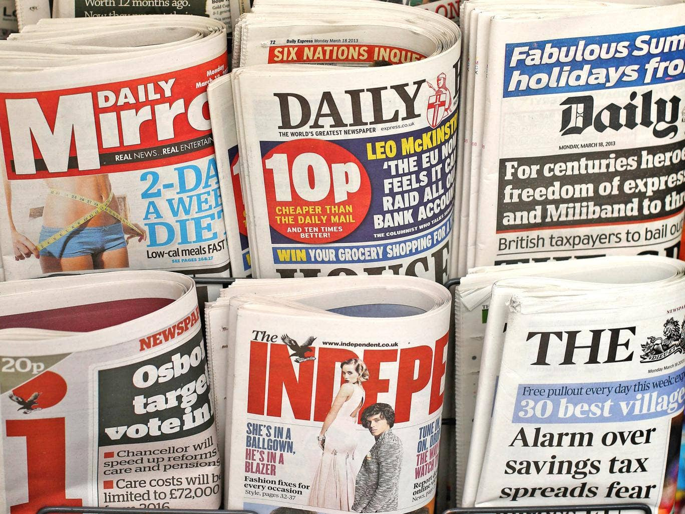 The newspaper industry's split poses a difficult dilemma for the Prime Minister