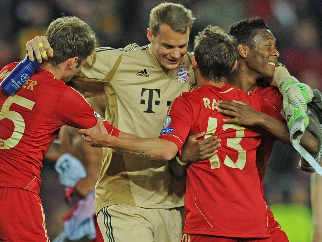 Bayern's success this season is setting the bar very high for Pep Guardiola