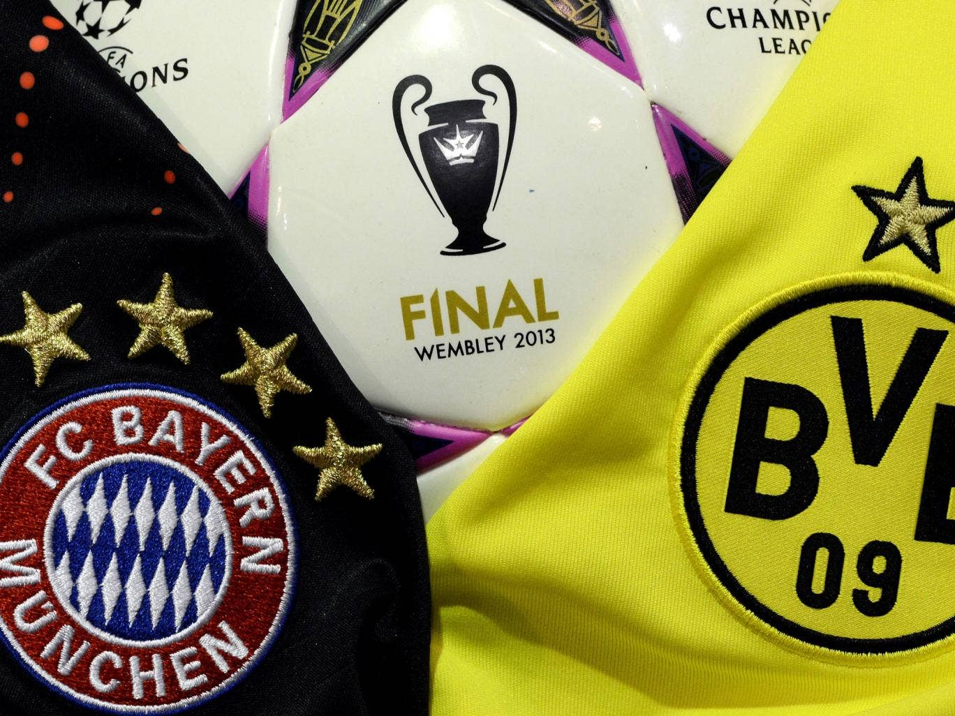 Bayern Munich and Borussia Dortmund will contest the Champions League final