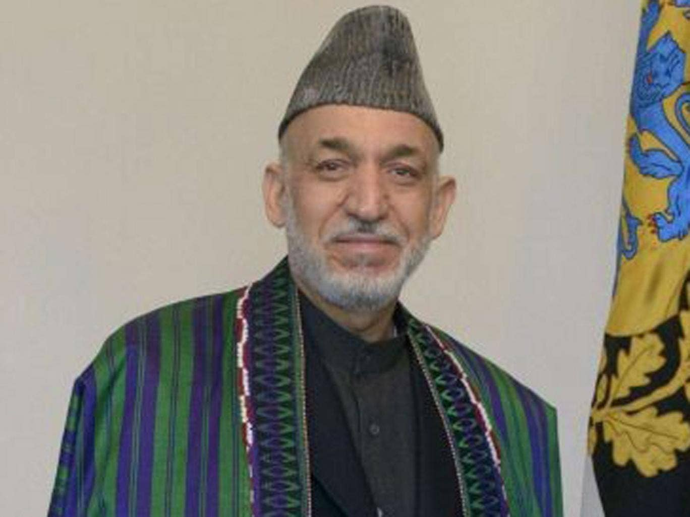 Hamid Karzai has pressed for the closure of the Guantanamo Bay prison