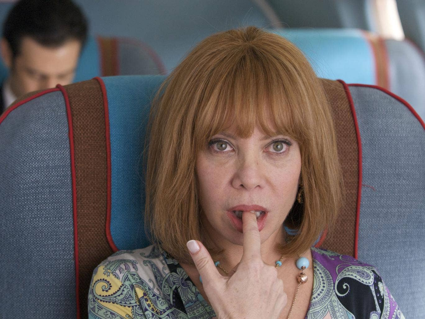 Finger-licking dud: Cecilia Roth in the disappointing 'I'm So Excited!'