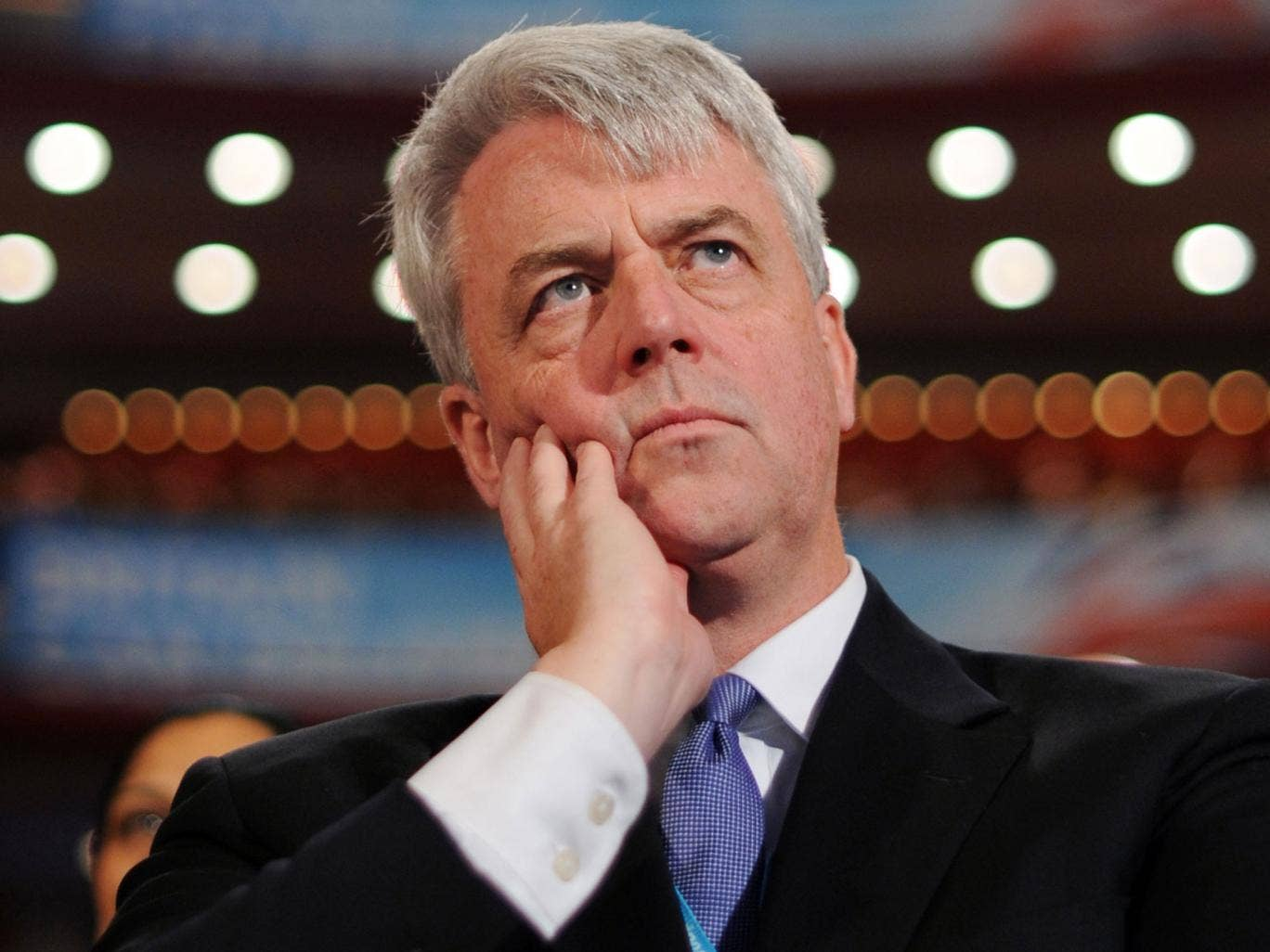Andrew Lansley suggested the Tories should work together with the Liberal Democrats on a programme for government after the next general election