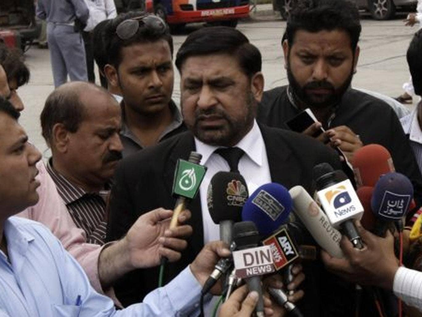 Prosecutor Chaudhry Zulfikar was shot dead as he headed to work