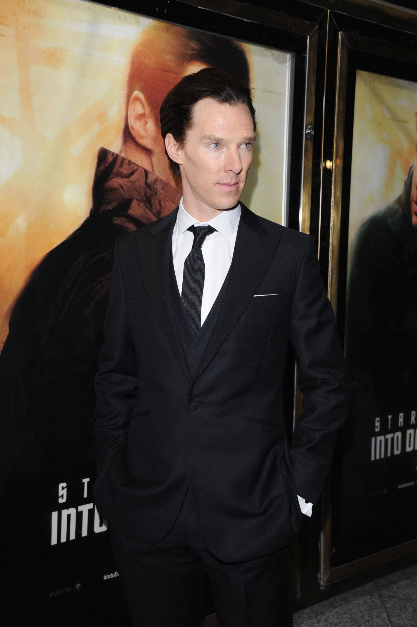 Benedict Cumberbatch attends the UK Premiere of 'Star Trek Into Darkness' in London