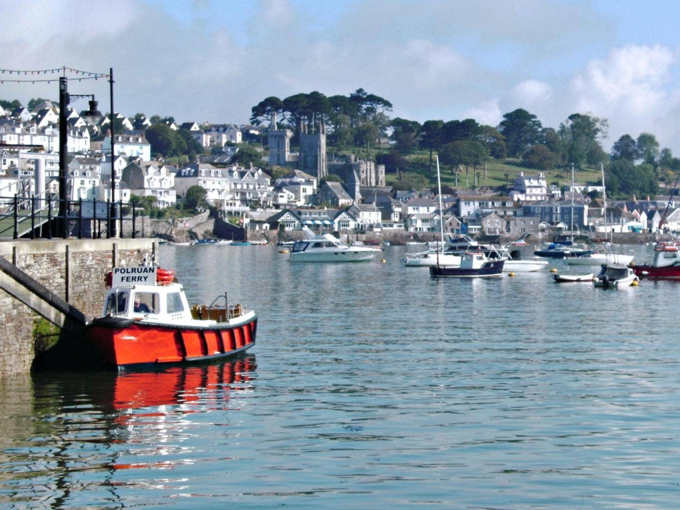 Harbour haven: Fowey has inspired writers for decades
