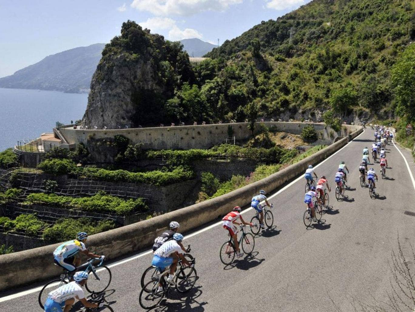 Glorious scenery and a race to relish – the Giro has it all