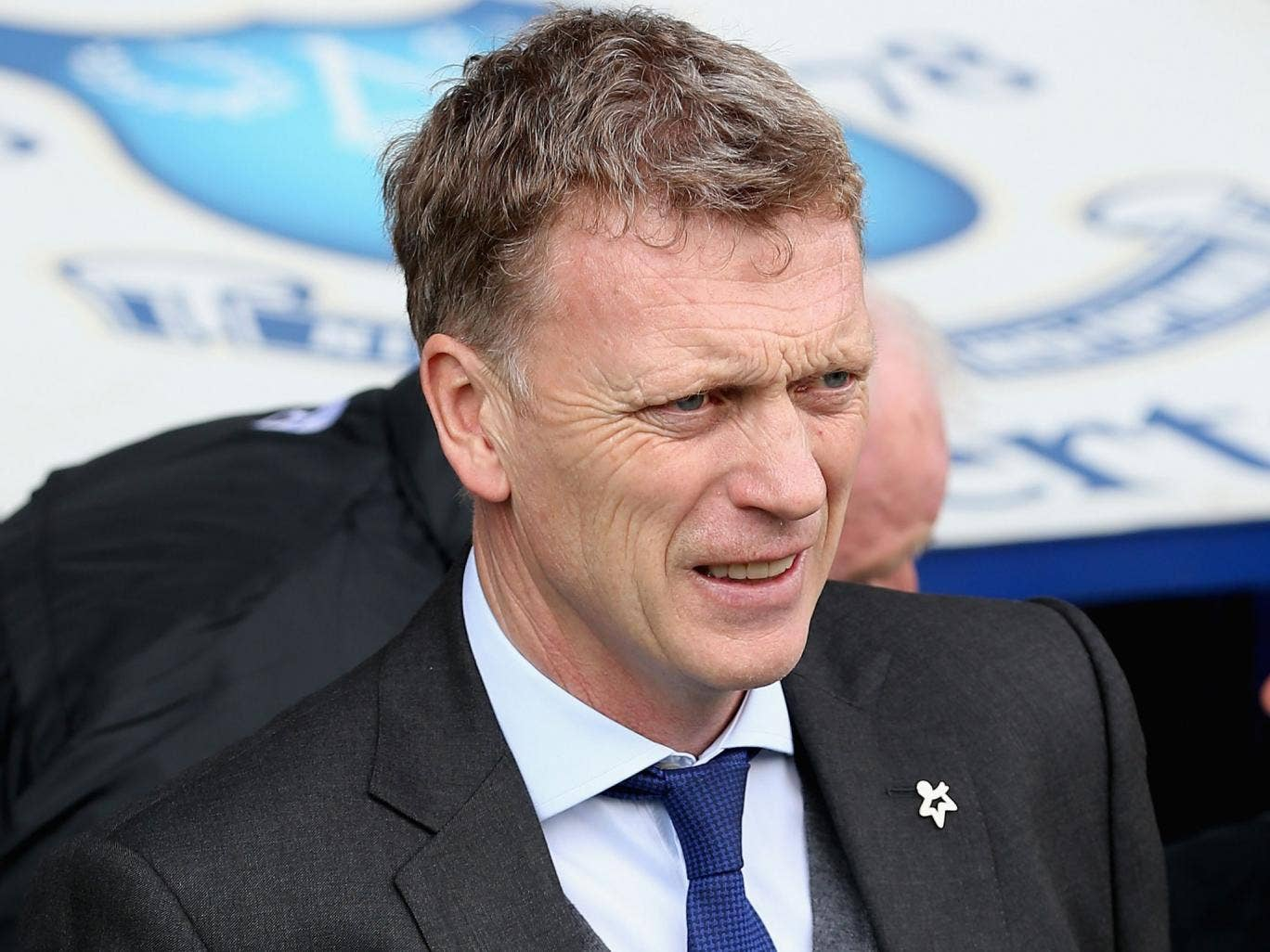 Everton's manager David Moyes said: 'there's been something stronger than football in the last year or two' between Everton and Liverpool