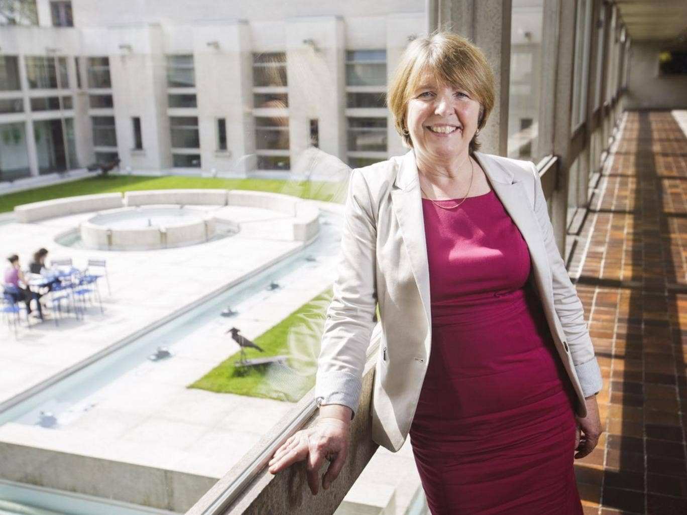 Dame Barbara Stocking turned to academia to outflank the 'male and pale' network