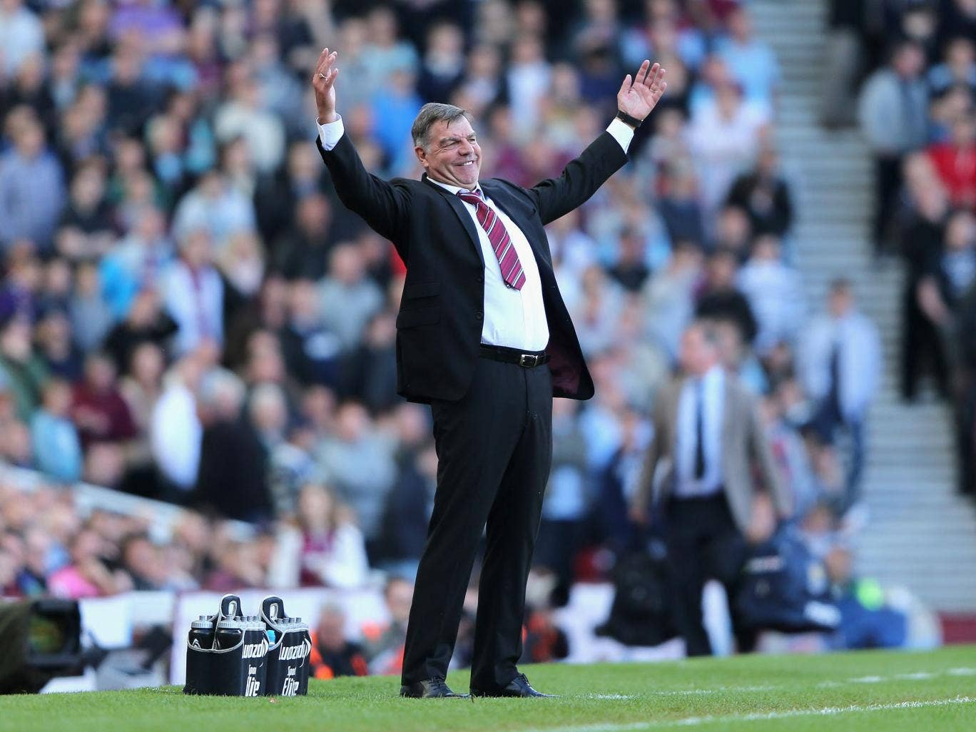 Sam Allardyce will be disappointed to have only come away with a point