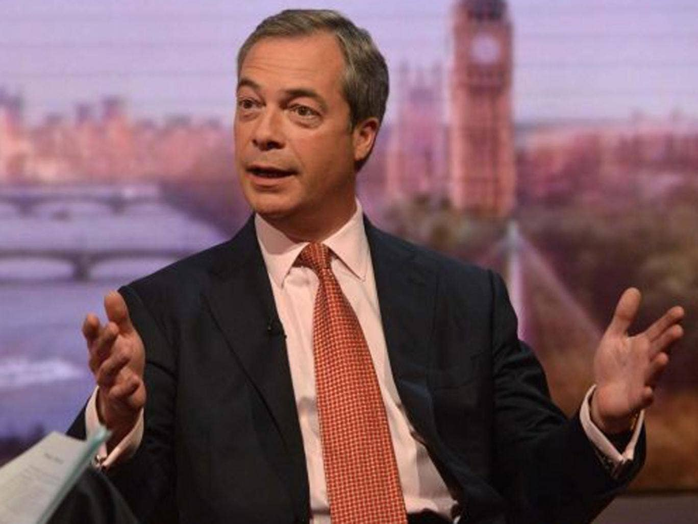 UKIP leader Nigel Farage confirmed he will stand in the 2015 general election