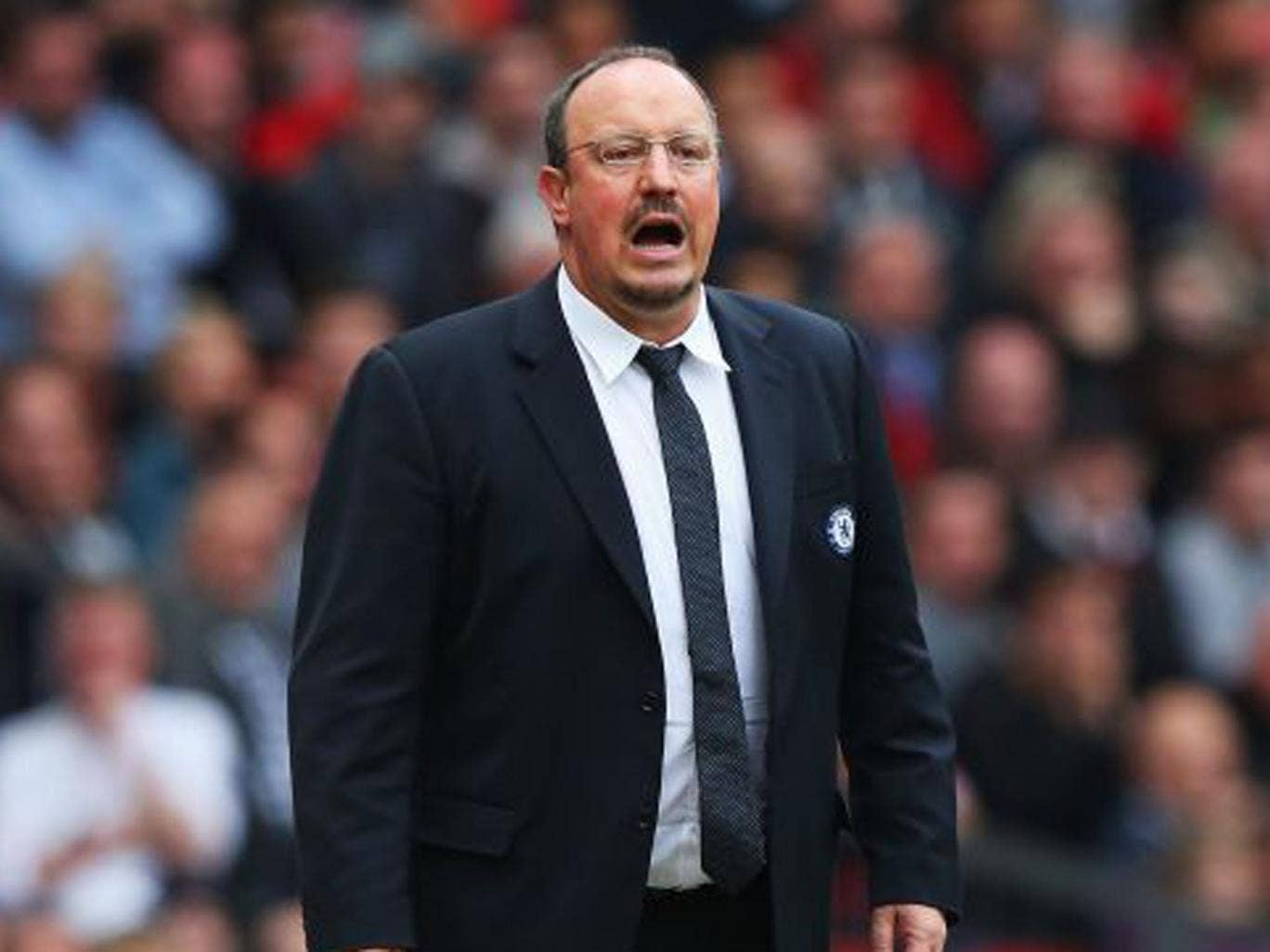 """Rafa Benitez, the Chelsea manager, called the win a """"massive result"""" for the club as the edged closer to securing the Champions' League qualification he was tasked with delivering (Alex Livesey/Getty Images)"""