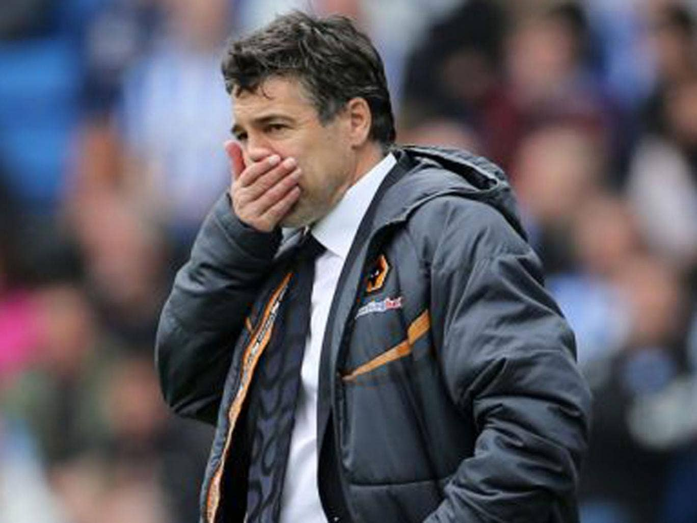 Wolves manager Dean Saunders says he is the right man for the job