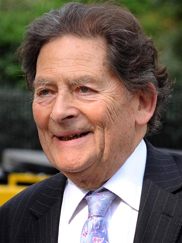 Former Chancellor Lord Lawson
