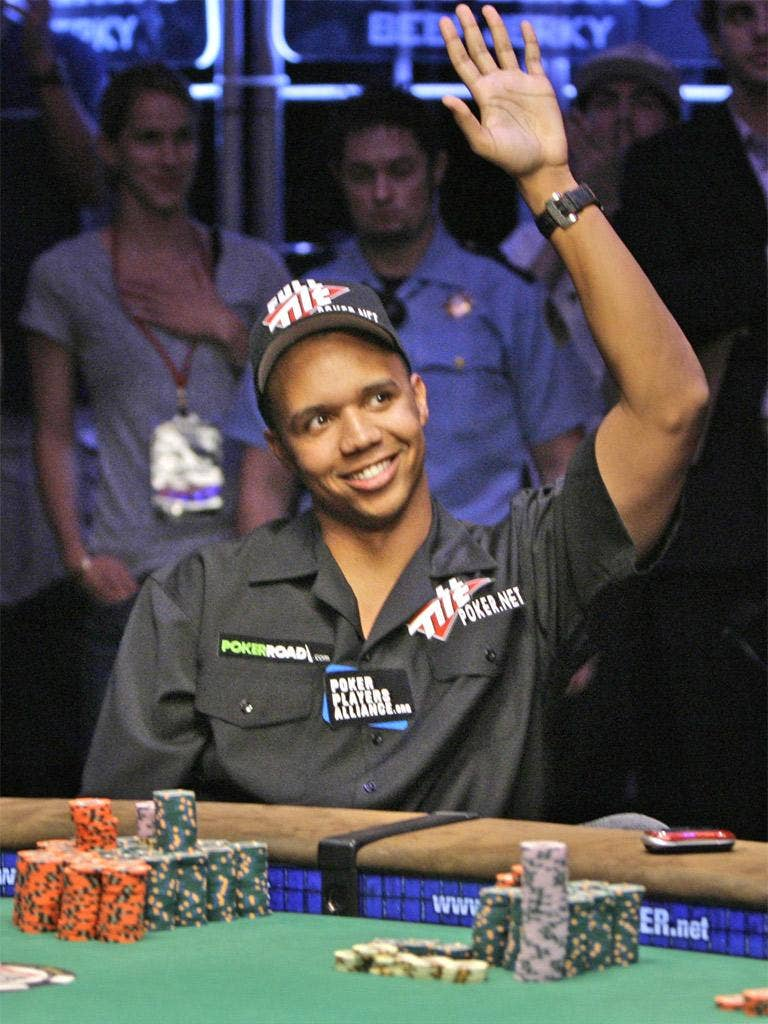 Phil Ivey, from Las Vegas, is thought to be the world's sixth-highest earner from punto banco tournaments