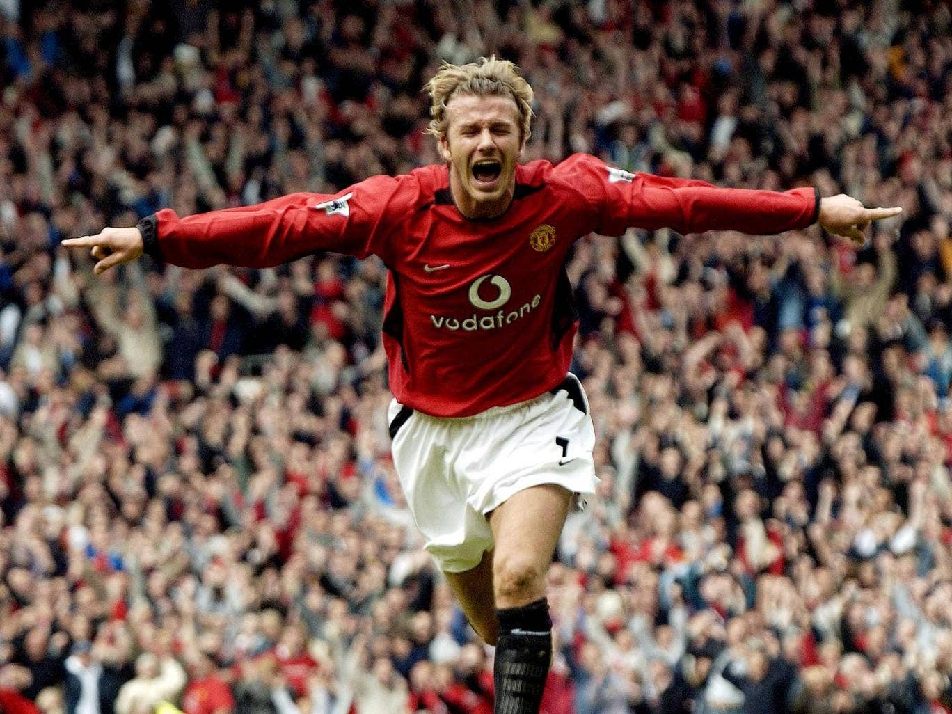 <p><b>David Beckham:</b></p> Beckham began his professional career at United, making his first-team debut in 1992. He won the Premier League title six times, the FA Cup twice, and the Champions League once. Beckham was the first choice on the right-wing t