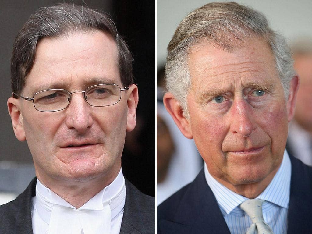 Attorney General Dominic Grieve; Prince Charles