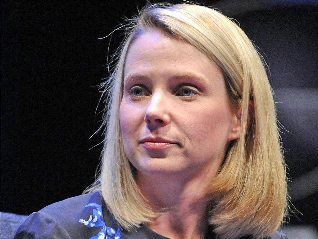President and CEO of Yahoo!, Marissa Mayer