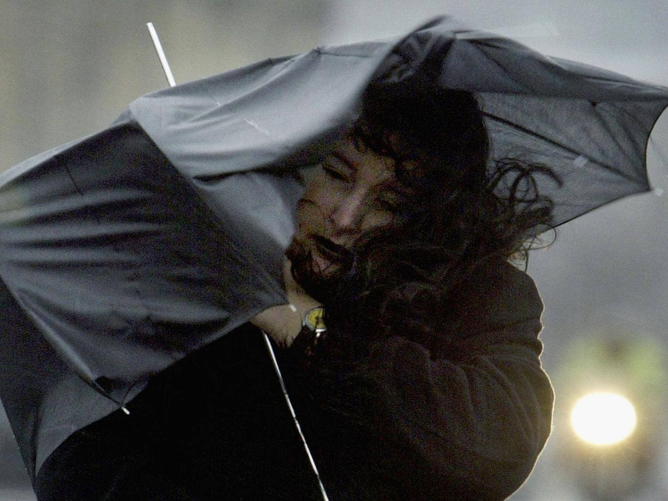 Hang on to your brolly - strong winds are forecast for much of England and Wales