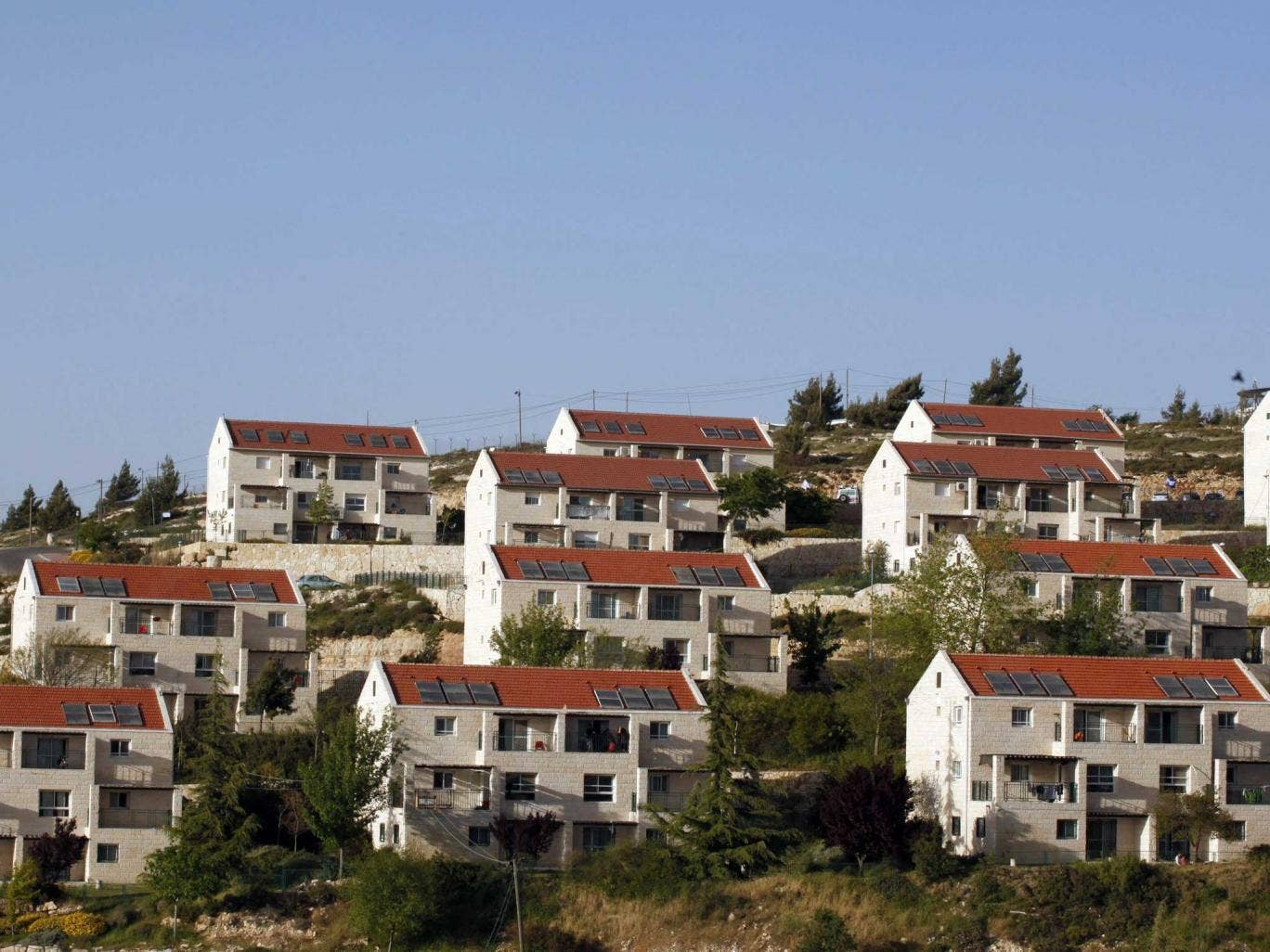 Israel has given the go-ahead to build nearly 300 homes in the Beit El settlement