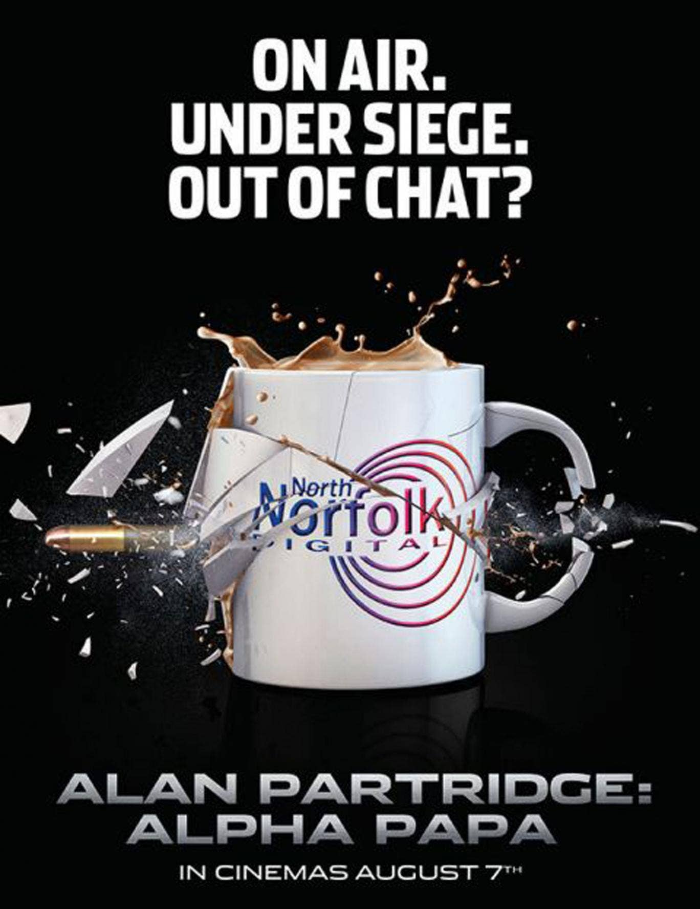 The poster for Alan Partridge: Alpha Papa